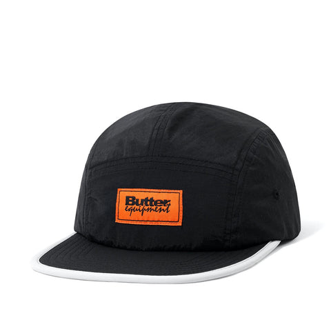 Butter Goods Equipt Camp Cap Black