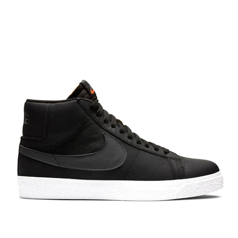 Nike SB Zoom Blazer Mid ISO Orange Label Black/Dark Grey