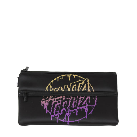 Santa Cruz Toxic Dot Pencil Case Black