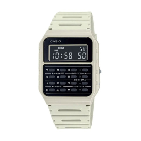 Casio Calculator White CA-53WF-8BDF