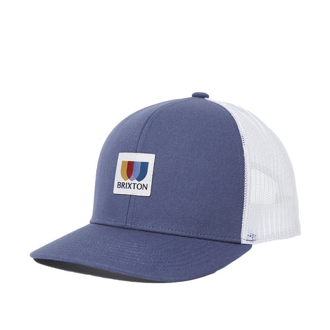 Brixton Alton x MP Mesh Cap Joe Blue White