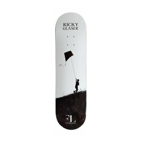 Folklore Ricky Glaser Pro Deck White 7.75