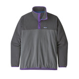 Patagonia M's Micro D Snap T PO Forge Grey
