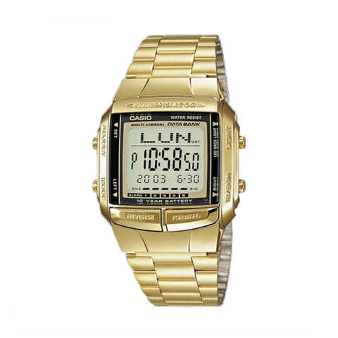 Casio Data Bank Telememo WR Gold DB360G-9