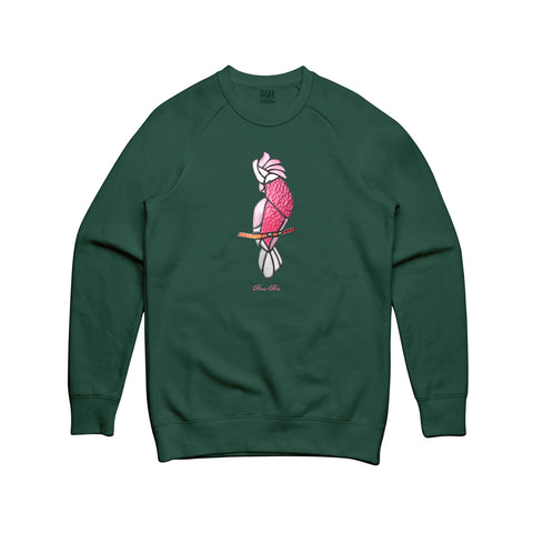 Passport Glass Galah Sweater Dark Green