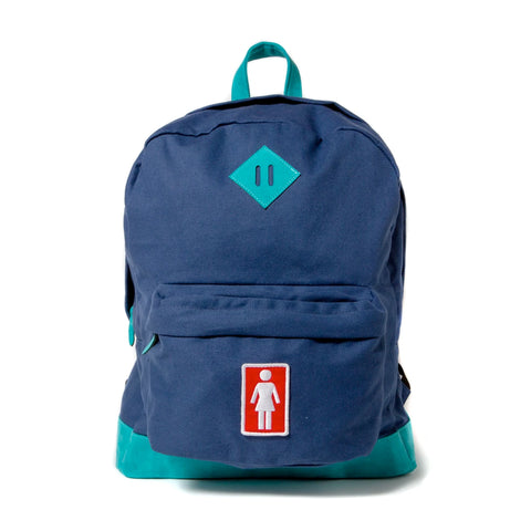 Girl Simple Backpack Blue Sale