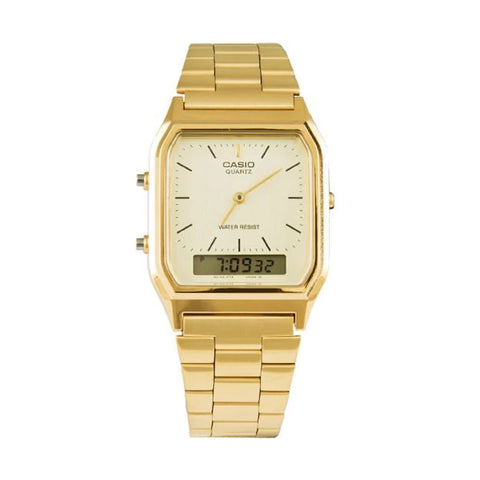 Casio Watch Dress Duo Gold