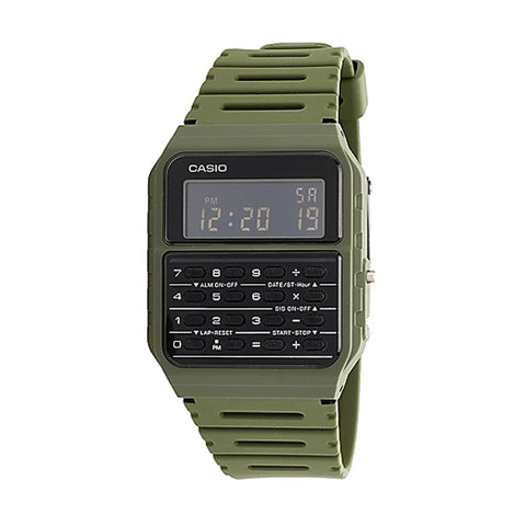 Casio Calculator Green CA-53WF-8BDF