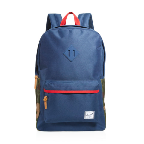 Herschel Heritage Backpack Navy/Camo Sale