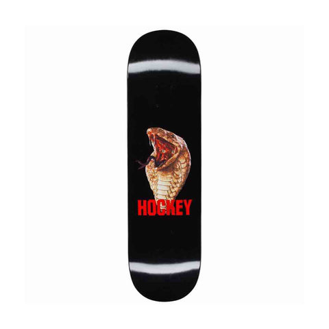 Hockey Snake Deck Black 8.38