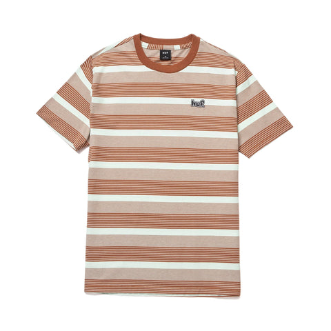 Huf Berkley Stripe Knit Tee Mint