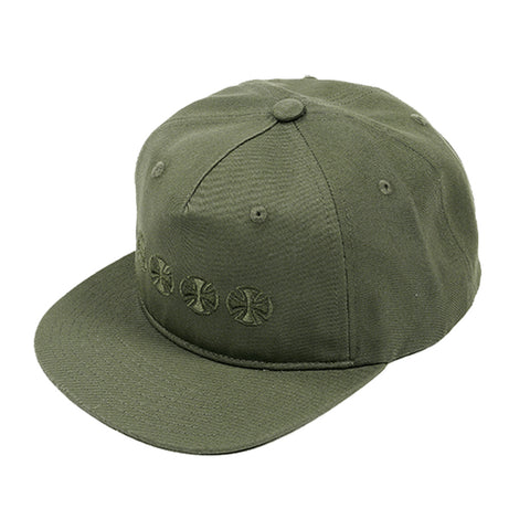 Independent Chain Cross Snapback Jungle
