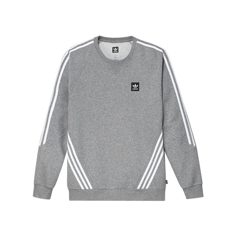 Adidas Insley Crew Core Heather / White