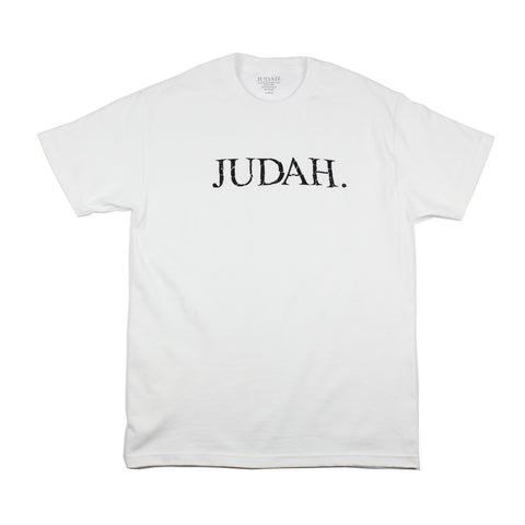 Judah Messed Up Tee White