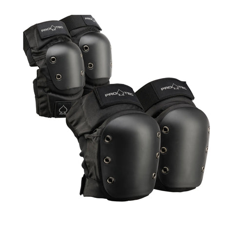 Pro-Tec Steet Knee/Elbow Pad Set Black