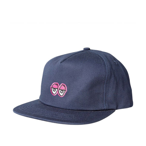 Krooked Eyes Snapback Navy
