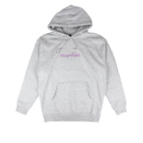 Passport Lavender Hoodie Grey Heather
