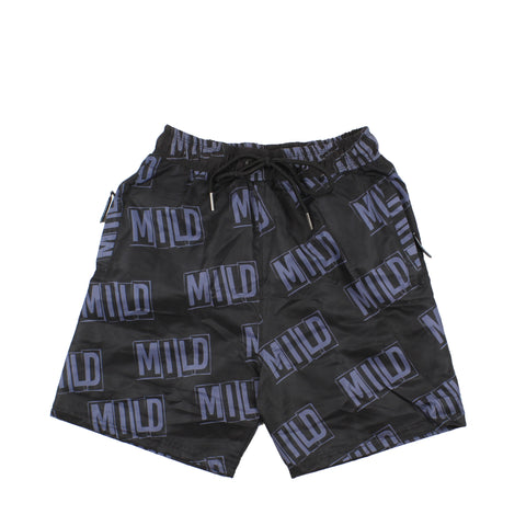 Mild Stencil All Over Short Black/Navy