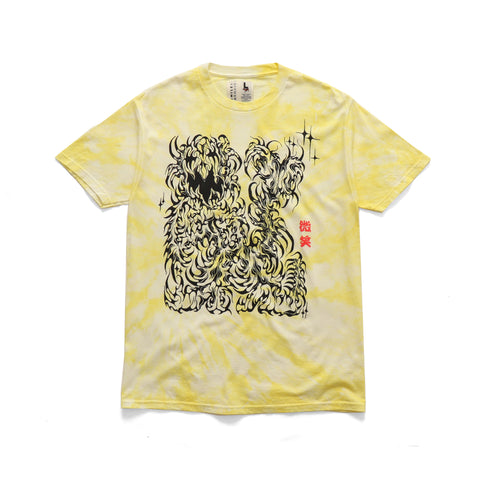 Smile + Wave Mystic T-Shirt Lemon Swirl