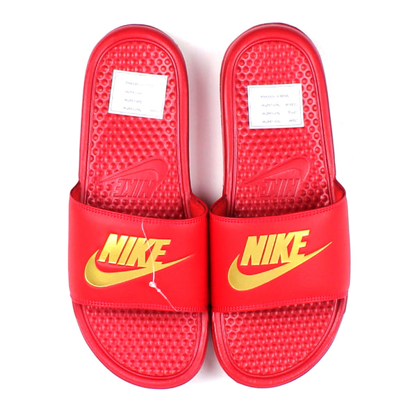 6b2a335b2211 Nike Benassi Slides Red – Locality Store