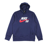 Nike SB Icon Pullover Hood Midnight Navy/University Redn Sale