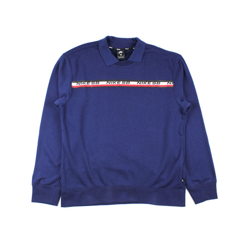 Nike SB On Deck Novelty Crewneck Navy