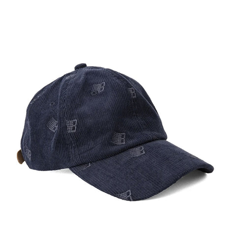 Bronze 56k Allover Embroidered Cap Navy