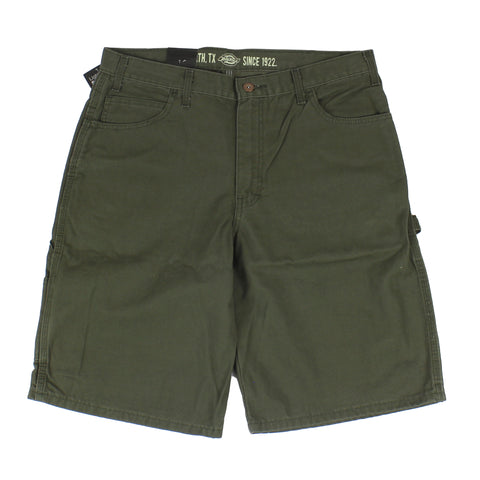 "Dickies DX250 11"" Relaxed Fit Short Moss Green"