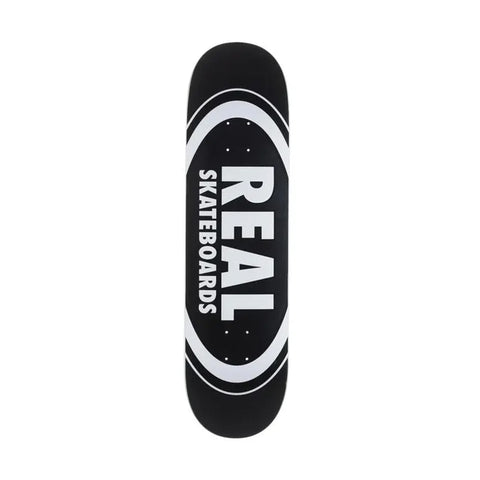Real Team Oval Black 8.25