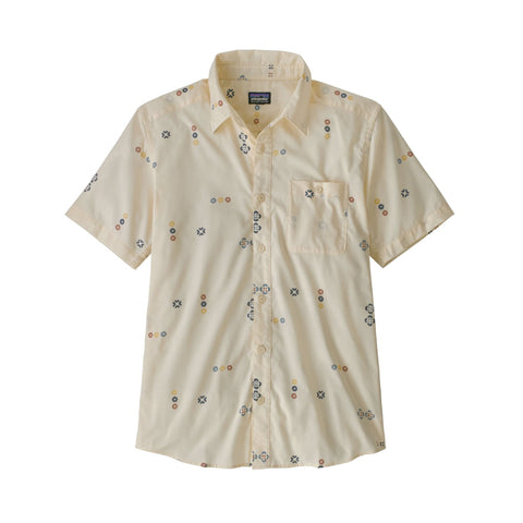 Patagonia Go To Shirt Micro Mixture White Wash