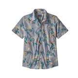 Patagonia M's Go To Shirt Parrots Ghost Purple Sale