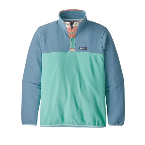 Patagonia M's Micro D Snap Light Beryl Green