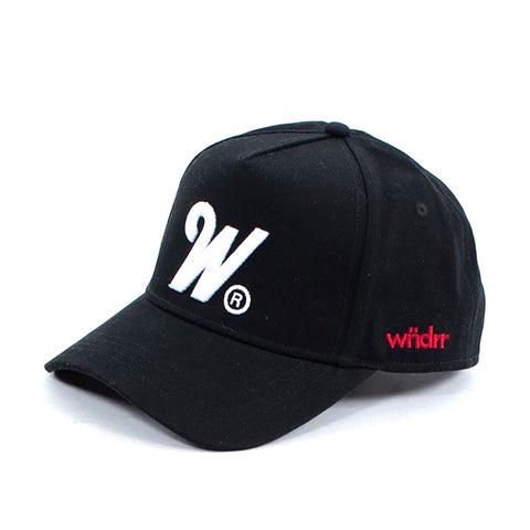 WNDRR Phillips High Rise Cap Black