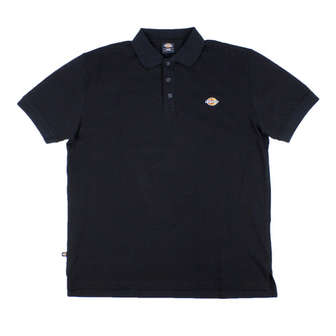 Dickies H.S Rock Wood Classic Fit Polo Tee Black