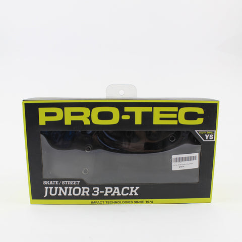Pro-Tec Junior Pad Set 3 Pack