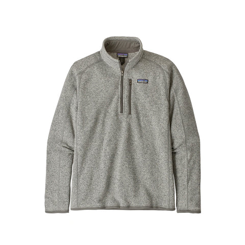 Patagonia M's Better Sweater 1/4 Zip Jacket Stonewash