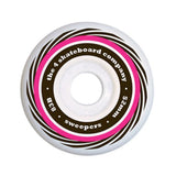 4 Skateboard Co Wheels Sweepers 83b 52mm