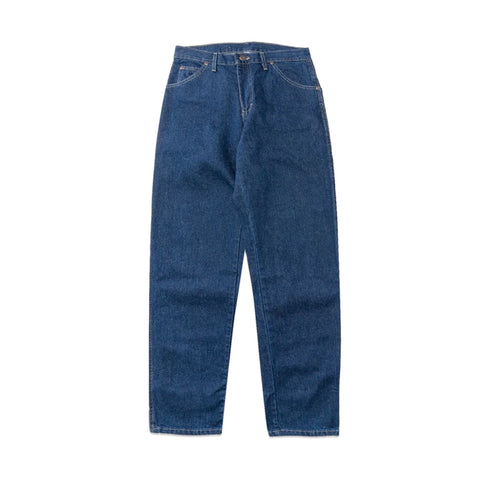 Dickies Relaxed Straight Fit 5-Pocket Rinsed Indigo Denim