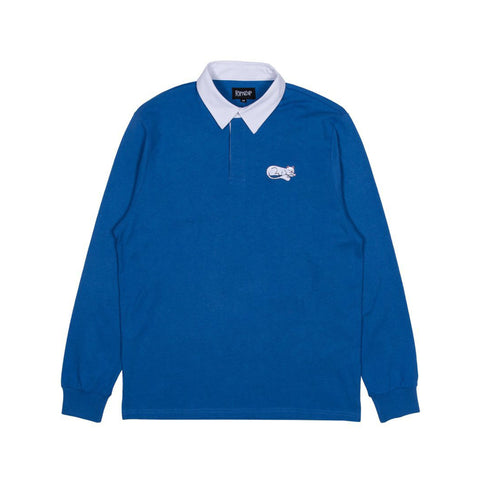 Ripndip RipnTail Rugby Polo Navy/White Sale