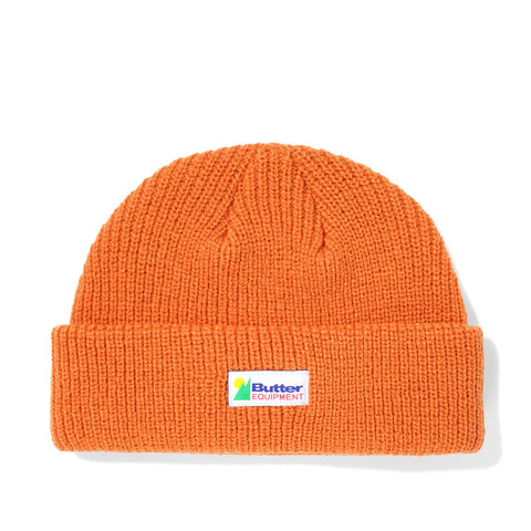Butter Goods Equipment Wharfie Beanie Rust