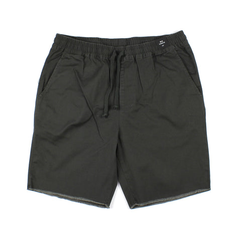 RVCA A.T Day Shift Elastic Short Pirate Black
