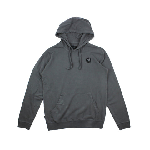 RVCA Eternal Struggle Hood Pirate Black