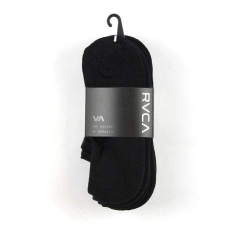 RVCA Transfer Sock Invisible Black
