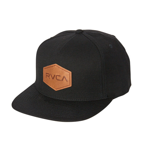 RVCA Commonwealth T-Black Cap Black