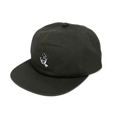 Santa Cruz Screaming Mono Dad Hat Gunmetal Grey