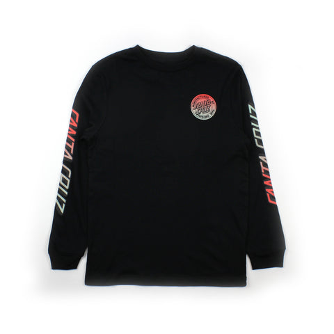 Santa Cruz Original Dot Fade Longsleeve Tee Youth