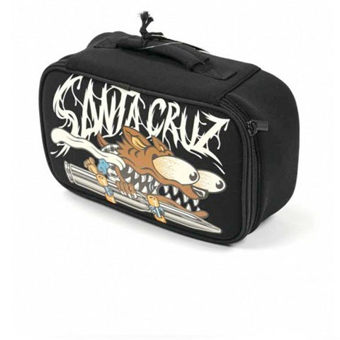 Santa Cruz Wolf Slasher Lunch Box Black