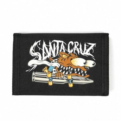 Santa Cruz Wolf Slasher Velcro Wallet