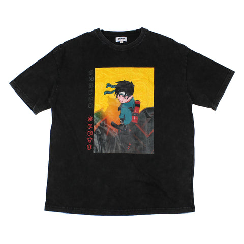 Shinzo Skate & Street Washed Black Tee