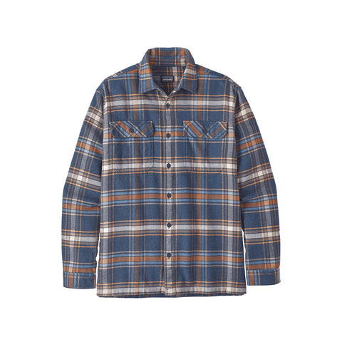 Patagonia Fjord Flannel New Navy